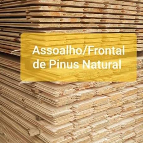 Assoalho e Frontal de Pinus Natural